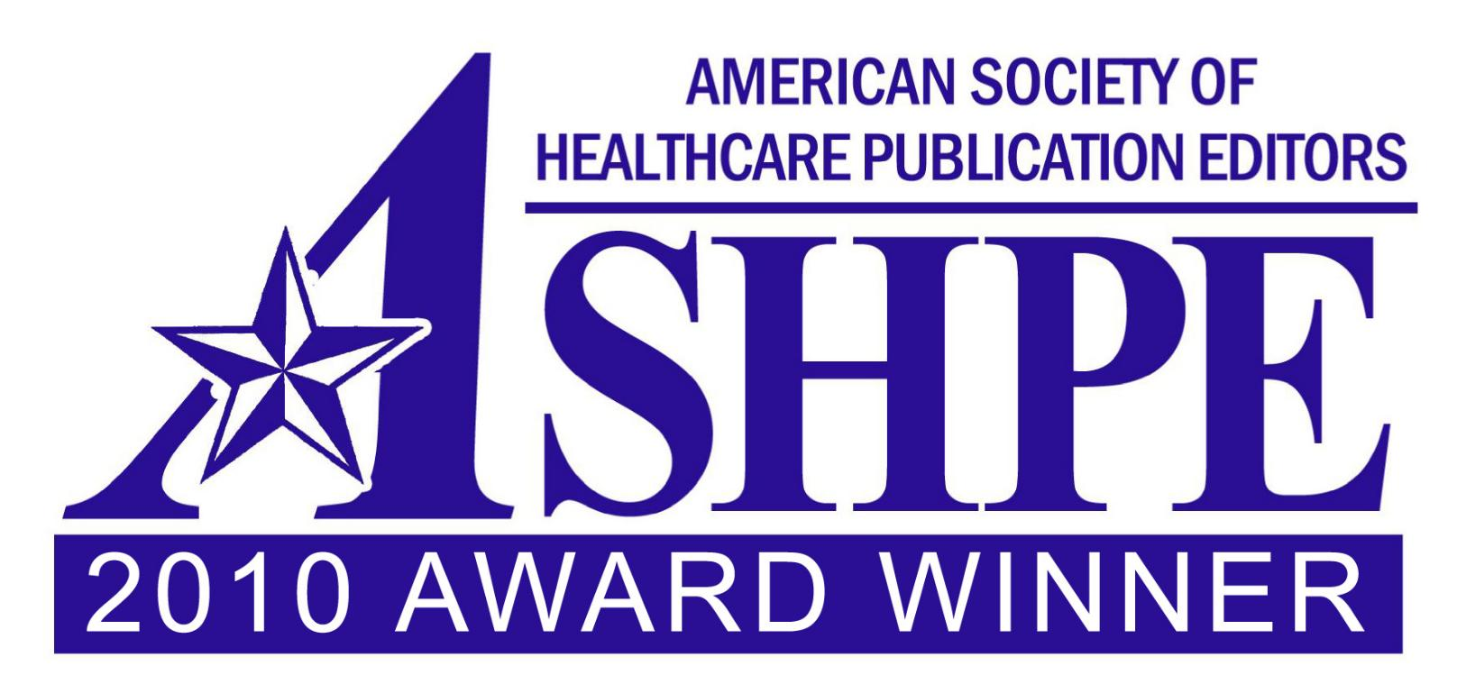 Clinical Correlations Wins 2010 Gold Award as Best Blog from the American Society of Healthcare Publication Editors